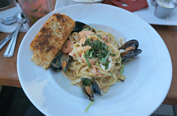 Cajun Seafood Fettucini